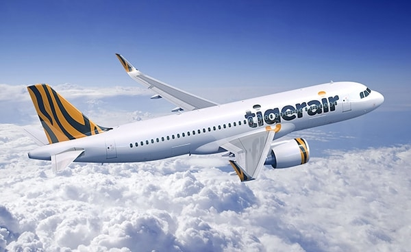 Mua vé máy bay Tiger Airways giá rẻ